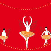Scarlet 'Dance of the Fireflies'