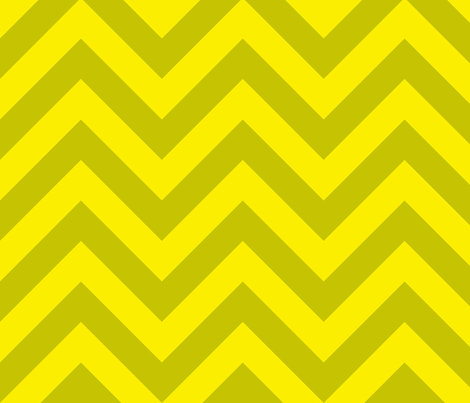 chevron_sunny fabric by holli_zollinger on Spoonflower - custom fabric