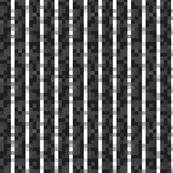 8-bit_Pinstripe White on Black