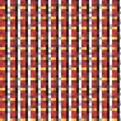 8-bit Tartan Red