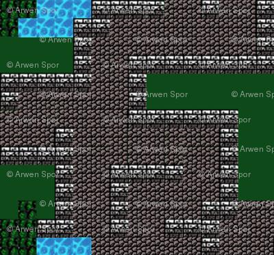 Fantasy Dungeon Adventure Map