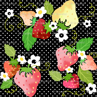 Strawberry Dots