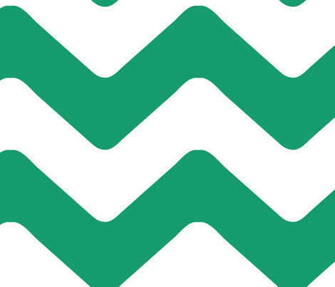 SOHO_CHEVRON_EMERALD fabric by juneblossom on Spoonflower - custom fabric