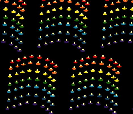 Fireflies fabric by hamesfarmer on Spoonflower - custom fabric