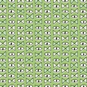 Eye Bow Tie | Green