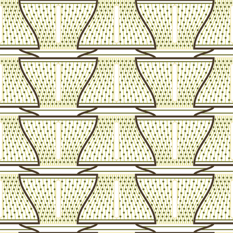 cup and saucer fabric by sef on Spoonflower - custom fabric