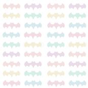 Rainbow Batman Symbols Pastel