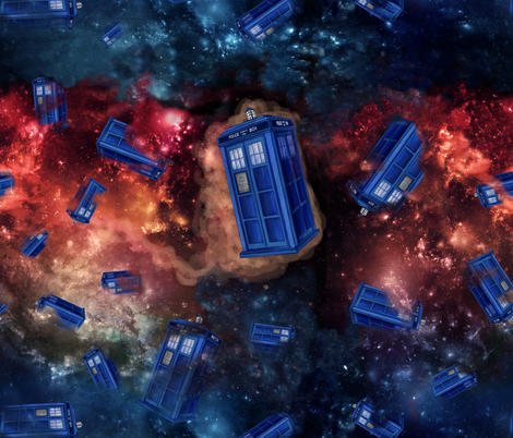 Wibbly Wobbly Small fabric by costumewrangler on Spoonflower - custom fabric