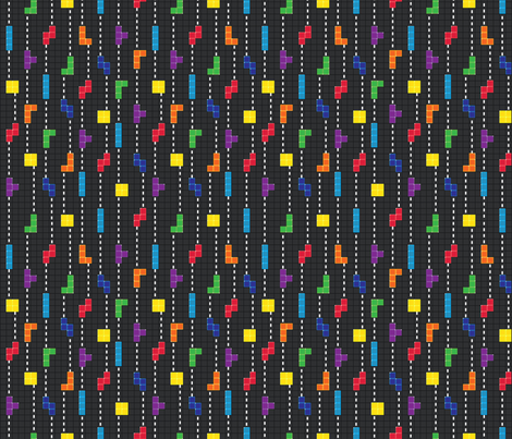 Pinstripe fabric by garviek on Spoonflower - custom fabric