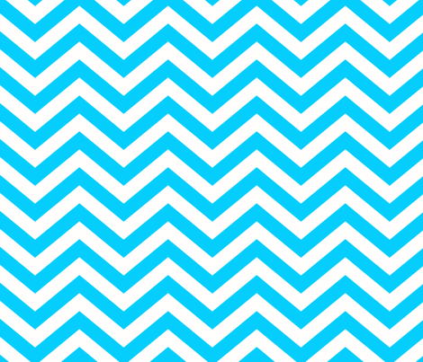 california_chevron_turquoise fabric by juneblossom on Spoonflower - custom fabric