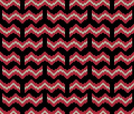 8 Bit Bacon fabric by robyriker on Spoonflower - custom fabric