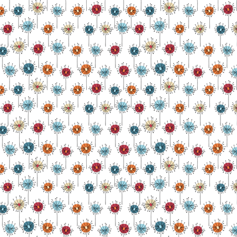 Skovtur seed heads fabric by ebygomm on Spoonflower - custom fabric