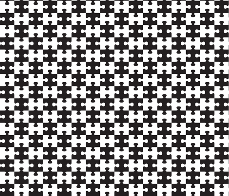 Black or White fabric by implexity on Spoonflower - custom fabric