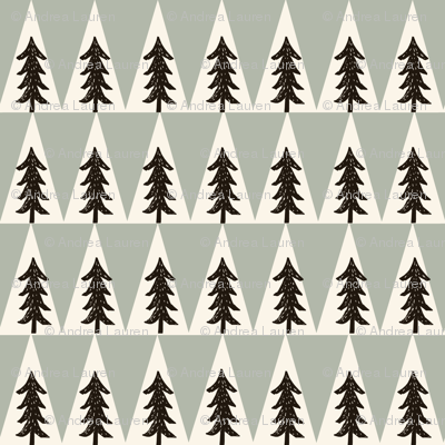 Camping Trees - by Andrea Lauren