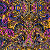 3D paisley