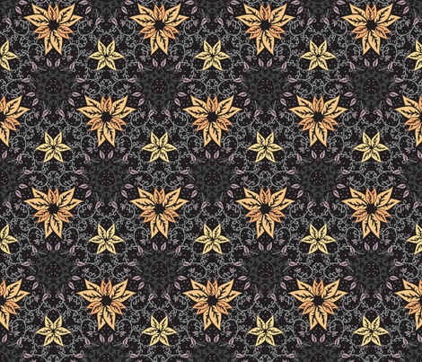 Decorative autumn fabric by ilyianne on Spoonflower - custom fabric