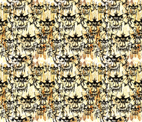 Dirt Devils fabric by whimzwhirled on Spoonflower - custom fabric