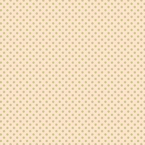 Dottie cream with green