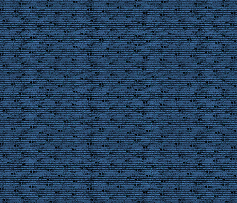 pi digits black fabric by spacefem on Spoonflower - custom fabric