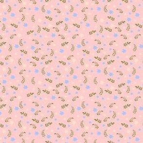 Ditsy floral pink