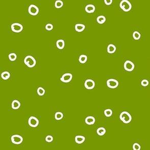 Hand Dot Green