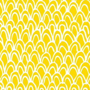 Horizontal Yellow Scale