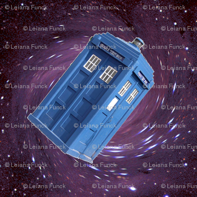 Police Box in Space