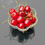 "Cherry Bowl 18"" Panel"