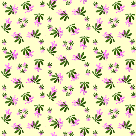 Spring Flower Ditsy fabric by ravynscache on Spoonflower - custom fabric