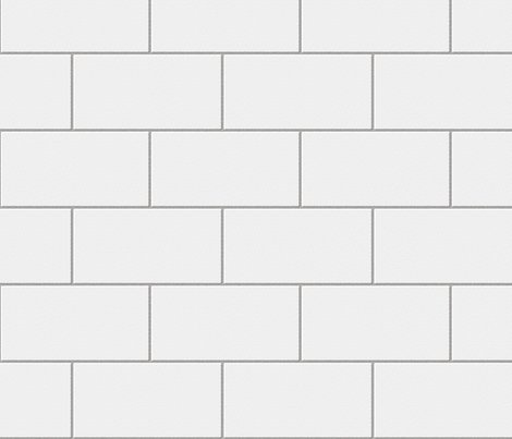 White subway tile texture
