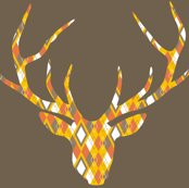 Rdeerhead_orange_argyle