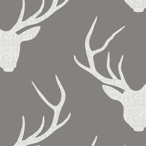 Deerhead Geeky Grey