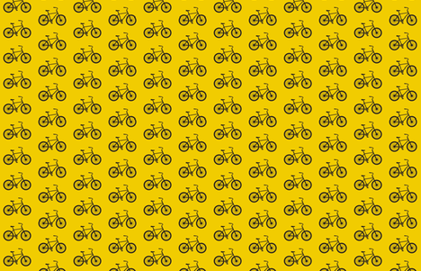 Medium Joy Ride! in yellow and black fabric by sandeeroyalty on Spoonflower - custom fabric
