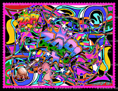 Alien Graffiti single panel