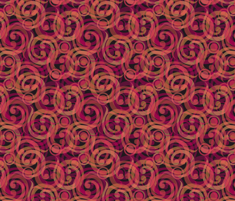dragons breath swirl fabric by glimmericks on Spoonflower - custom fabric