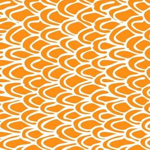 Vertical Orange Scale