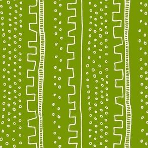 Vertical Green Stripe