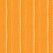 Vertical Orange Stripe