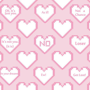 Insulting Love Hearts