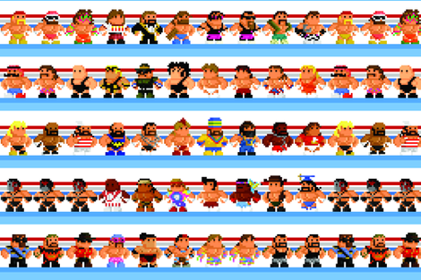 When WWF meant WRESTLING fabric by mcmitalian3 on Spoonflower - custom fabric