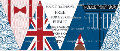 Doctor Who Bunting Flags