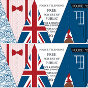 Time Lord Bunting Flags