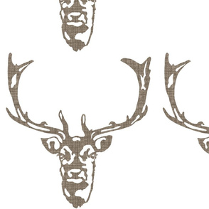 Wild Welsh Stag - Medium Centered