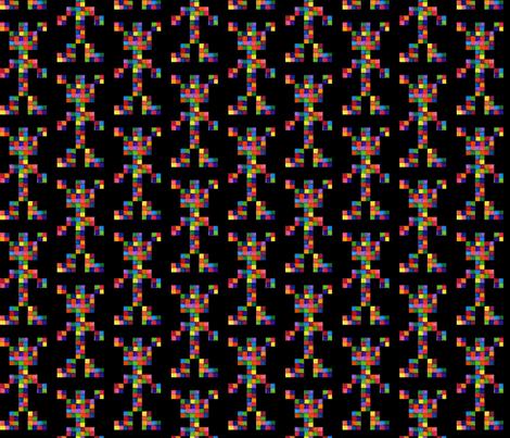 Space Intruders fabric by izbee on Spoonflower - custom fabric