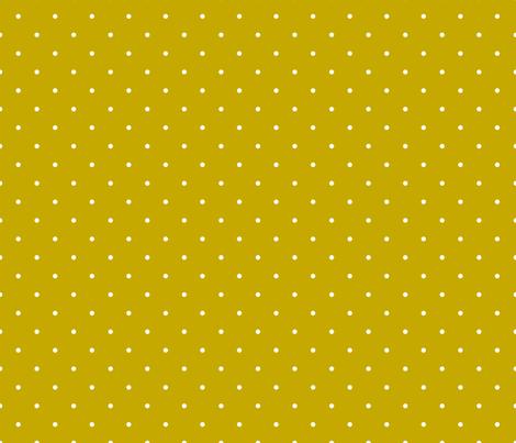 Mustard polka dot fabric by newmom on Spoonflower - custom fabric