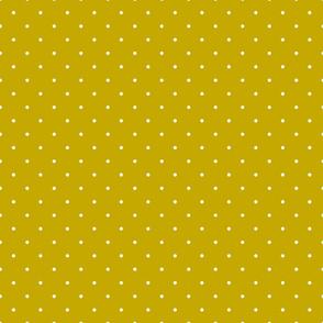 Mustard polka dot