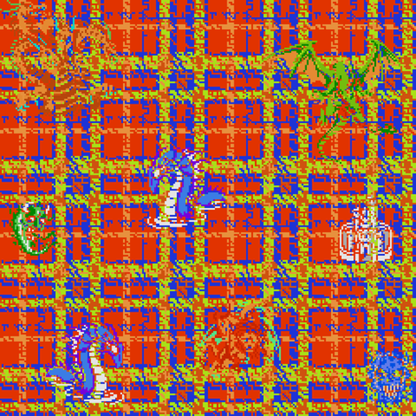 Bad in Plaid fabric by annacole on Spoonflower - custom fabric