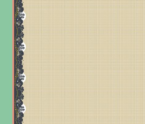 Light Up The Night: border fabric by cerigwen on Spoonflower - custom fabric
