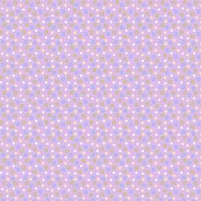 Spot candy mix (lavender ground)
