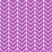 plum chevron